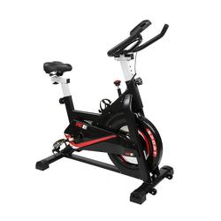 FCH Speedbike Fahrradtrainer, Heimtrainer Fahrrad, Indoor Cycling Fitness Fahrrad Trimmrad mit LCD-Konsole
