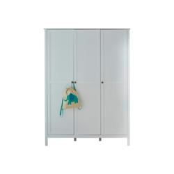 ebuy24 Kleiderschrank Ory Kleiderschrank 3 Türen, weiss.