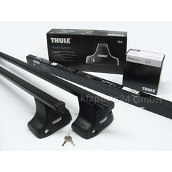 THULE Stahl Dachträger Ford Kuga bis 2012 ohne Reling: 754+7124+1671