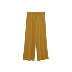 MANGO Damen Hose senf, Größe S, 5084025