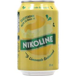 Nikoline Limonade Sodavand 24x0,33 ltr.