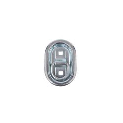 Zurrbügel Zurrmulde OVAL 103mm x 70mm 3 teilig für Anhänger Trailer Ladebordwand