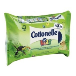 Cottonelle® Kids feuchtes Toilettenpapier, sanfte Feuchttücher für Kids ab drei, 1 Nachfüllpackung = 42 Stück, Aloe Vera