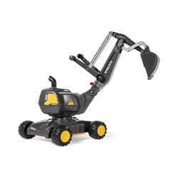 RollyToys Kinderbagger Volvo EW160 Spielzeugbagger, Sandspielzeug, Bagger