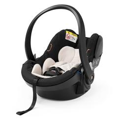 Stokke Autokindersitz Stokke iZi Go Modular X1 by BeSafe - Autokindersitz für Babys von 0-12 Monate - kompatibel mit allen Stokke Kinderwagen-Chassis-Modellen - Farbe: Black