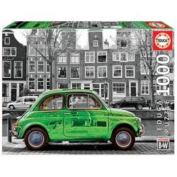 Carletto 9218000 - Educa, B&W, Car in Amsterdam, Puzzle,