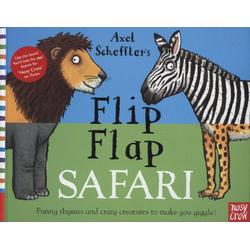 Axel Scheffler's Flip Flap Safari als Buch von Axel Scheffler