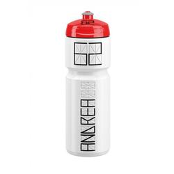 Elite Trinkflasche Trinkflasche Elite Nomo 750ml, weiß/rot