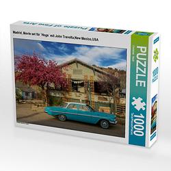 Madrid, Movie set `Hogs´ mit John Travolta,New Mexico,USA Lege-Größe 64 x 48 cm Foto-Puzzle Bild von Christian Heeb Puzzle  Kinder