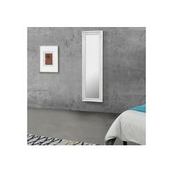 en.casa Wandspiegel, Livorno Ganzkörperspiegel 132x42cm Antik Spiegel weiß weiß