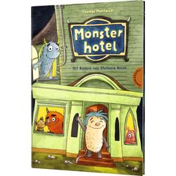 Monsterhotel als Buch von Thomas Montasser