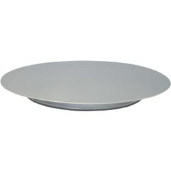 SCHNEIDER Tortenplatte, Edelstahl, Kuchenplatte aus Edelstahl, Durchmesser: 330 mm