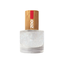 Zao - Bambus Nagellack - Nr. 665 / Top Coat Glitter - 8 ml