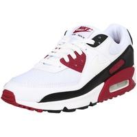 Nike Men's Air Max 90 white/new maroon/black/white 42