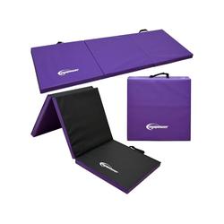 eyepower Fitnessmatte XL Gymnastikmatte Sport-, Turn- und Bodenmatte, Weichbodenmatte lila