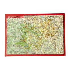 Reliefpostkarte Oberfranken