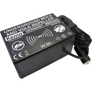 Kemo Underground Repeller Wühlmausvertreiber Vibration Wirkungsbereich 1000m² 1St.