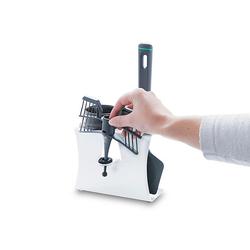 Leckerhelfer - automatisch Lecker Zubehör-Set Zubehör Halter für Thermomix von Leckerhelfer TM5, Zubehör für Thermomix TM5 weiß