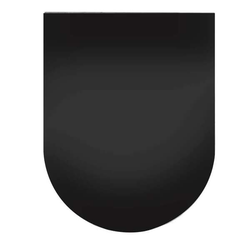 Globe Fire Funkenschutzplatte Rundbogen Granit poliert