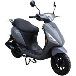 GT UNION Motorroller Matteo 45, 50 ccm, 25 km/h, Euro 5 grau