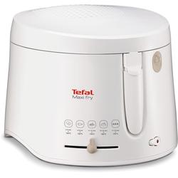 Tefal Fritteuse Maxifry FF1000, 1900 Watt, Fritteuse, 586486-0 weiß weiß