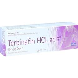 TERBINAFIN HCL acis 10 mg/g Creme 30 g