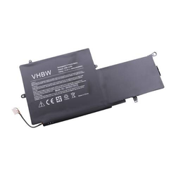 vhbw Li-Polymer Akku 4900mAh (11.4V) schwarz passend für Laptop Notebook HP Spectre x360 Convertible PC, Convertible PC 13