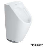 Duravit ME by Starck Urinal, rimless B: 30 H: 58,5 T: 35 cm Netzbetrieb, weiß mit HygieneGlaze, mit Zielobjekt 2809312097