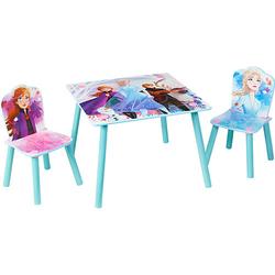 Kindersitzgruppe Frozen 2, 3-tlg. hellblau