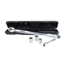Brüder Mannesmann Werkzeuge Drehmomentschlüssel M18300 (Set, 5 St), mit Umschaltknarre 1/2