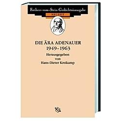 Die Ära Adenauer 1949-1963 - Buch