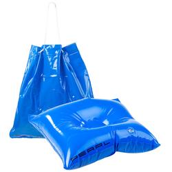 2in1-Strandtasche und aufblasbares Schwimmkissen, 31 x 33 cm