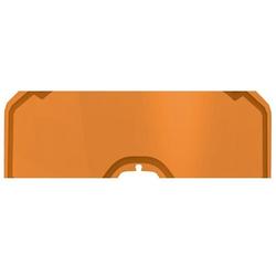 Klim Radius / Radius Pro Abreissfolien, orange