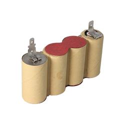 AccuCell NiMH-Akku - 1500mAh (4.8V) für elektrischer Besen Staubsauger-Akku