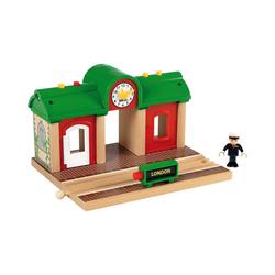 BRIO® Spielzeug-Eisenbahn Sprechender Bahnhof