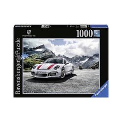 Ravensburger Puzzle Puzzle 1000 Teile, 70x50 cm, Porsche 911R, Puzzleteile