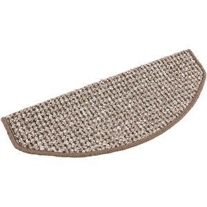 andiamo Stufenmatten Newport Treppenmatten robust pflegeleicht, 2 Stück, hellbraun