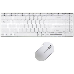 LOGILINK WIRELESS DESKTOP SET SLIM, whit