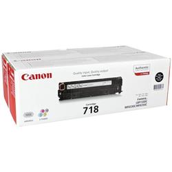 Canon 718BK 1x2 Toner (Druckerzubehör)