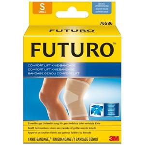 FUTURO FUT76586 Comfort Knie-Bandage, beidseitig tragbar, Größe S, 30,5 – 36,8 cm