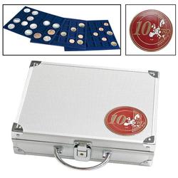 Alu-Münzkoffer für 10-Euro-Münzen