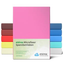 etérea Microfaser Spannbettlaken Rosa, 60x120 - 70x140 cm