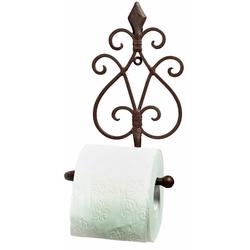 Ambiente Haus Toilettenpapierhalter Antik, antikbraun
