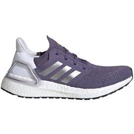 adidas Ultraboost 20 W tech purple/silver metallic/cloud white 40