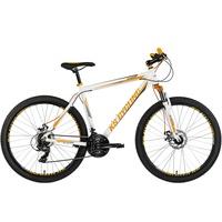 KS-CYCLING Compound 27,5 Zoll RH 51 cm weiß/orange