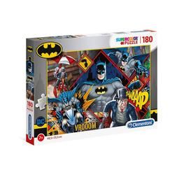 Clementoni® Puzzle Supercolor Puzzle 180 Teile - Batman, Puzzleteile