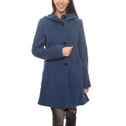 Gil Bret Wintermantel GIL BRET Woll-Mantel schöner Damen Herbst-Mantel Winter-Mantel mit Kaschmir-Anteil Dark Denim 42