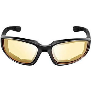 Triamisu Motorradschutzbrille Winddichte staubdichte Brille Fahrradbrille Outdoor Sportbrille - Gelb