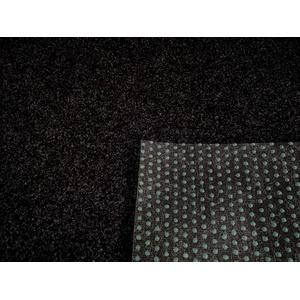 Rasenteppich Kunstrasen Premium schwarz grau Weich Meterware (200x150 cm)