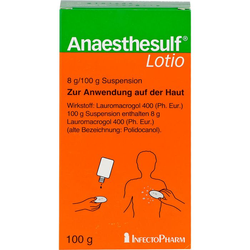 ANAESTHESULF Lotio 100 g
